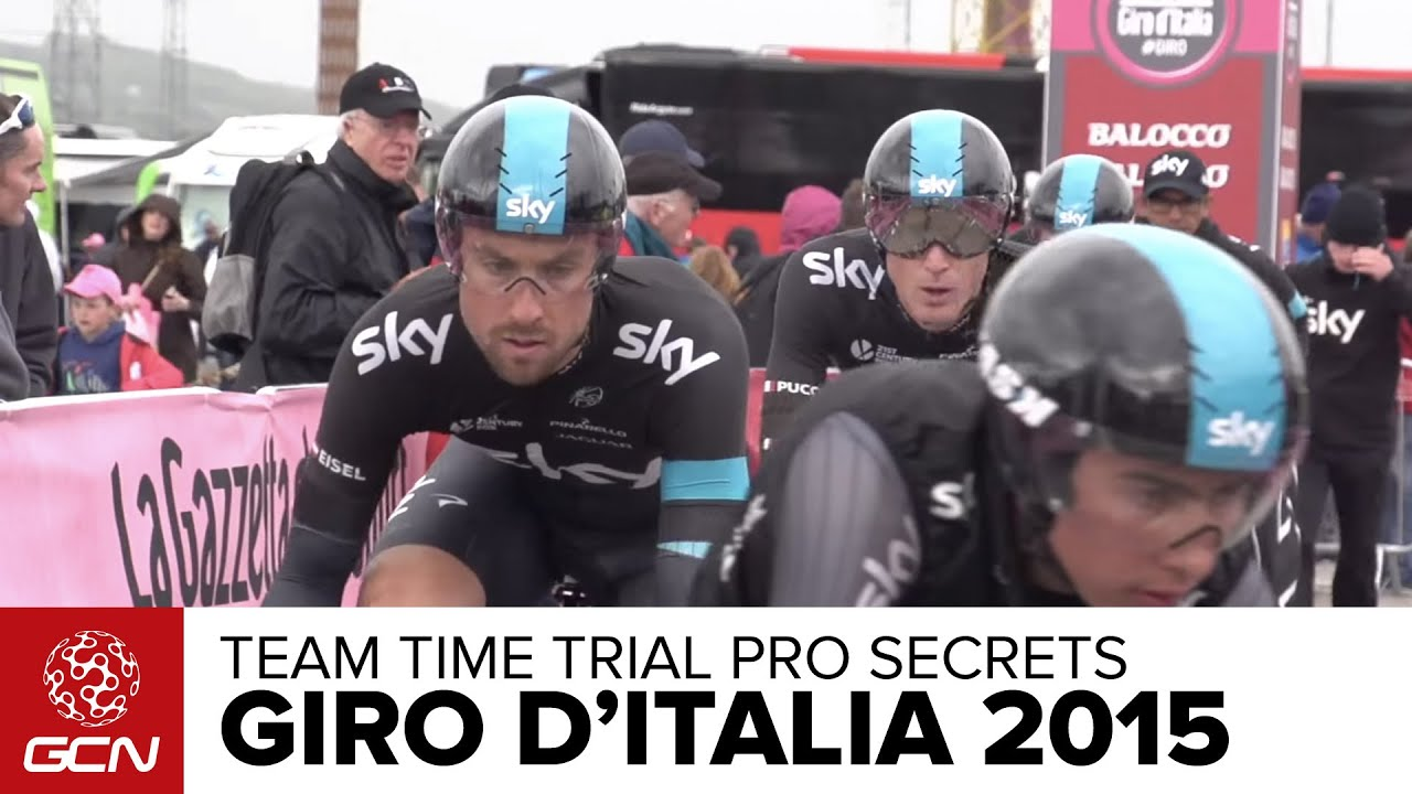 Giro D'Italia 2015 Team Time Trial