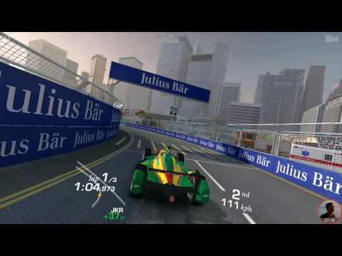 Formula E - Showcase Cup Hong Kong Track (Morning) Real Racing 3