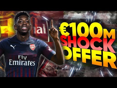 Arsenal Make SHOCK Late Move For Ousmane Dembele?!   Transfer Review