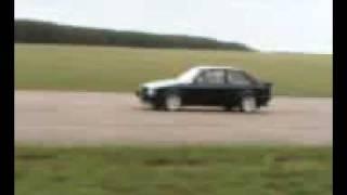 FASTEST XR3 by OddKidd Creations Top speed run Bruntingthorpe. Antilag ANTI LAG FastFord mag