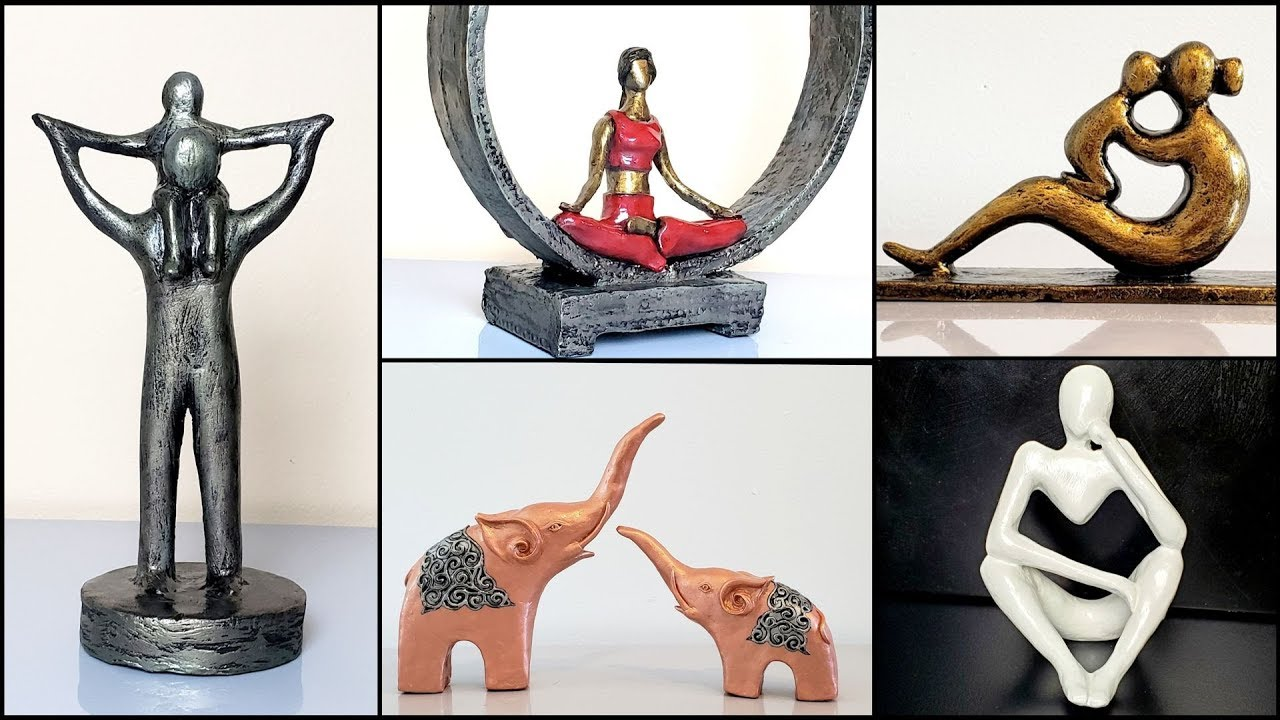 Home Decor Sculpture Making Ideas