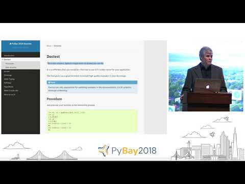 Keynote - Preventing, Finding, and Fixing Bugs On a Time Budget | Raymond Hettinger @ PyBay2018