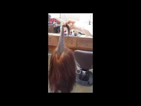 긴 머리 가볍고 시원한 질감처리 TIP