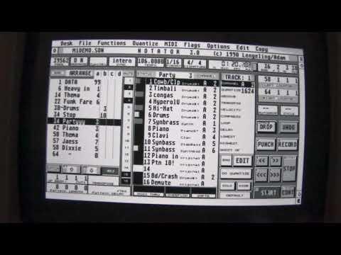 Atari Notator Korg M1