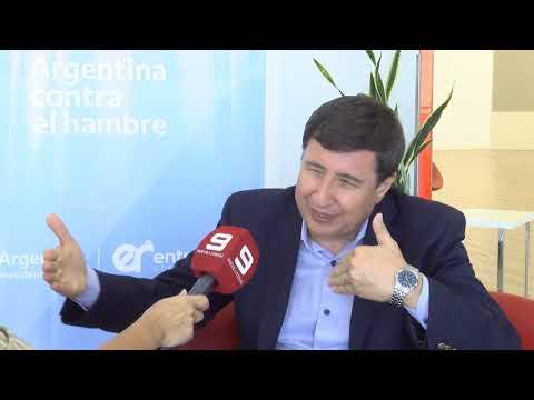 El ministro Daniel Arroyo dialogó en exclusiva con el Nueve