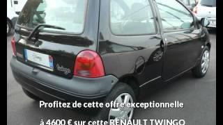RENAULT TWINGO Essence sans plomb occasion à 4600 €