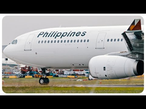 Philippines Airlines Airbus A330 Takeoff | Melbourne Airport to Manila | PR210
