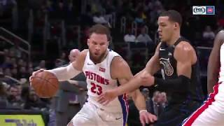 Blake Griffin's 30 point outing leads Pistons to OT win over the Magic