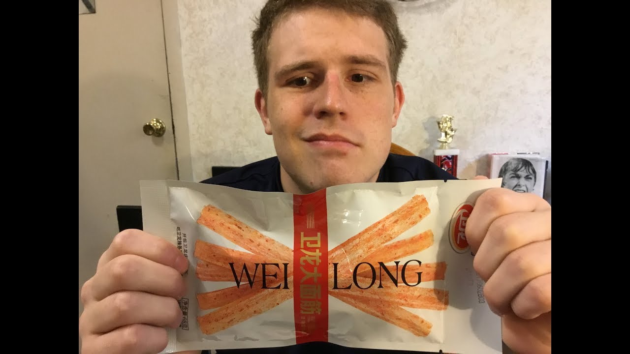 Tasting Chinese Snacks Taste Test Wei Long