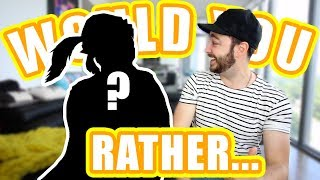 16 VERY HARD Would You Rather Questions!   Feat.  SPECIAL GUEST