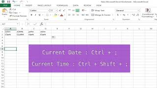 MS Excel Tricks and Tips