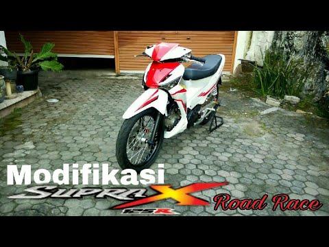 Modifikasi Supra X 125 Road Race