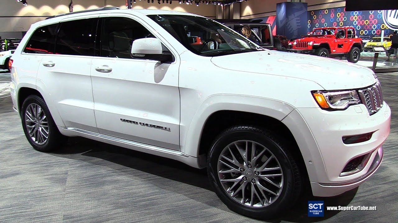 2018 jeep grand cherokee summit exterior and interior. Black Bedroom Furniture Sets. Home Design Ideas