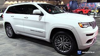 2018 Jeep Grand Cherokee Summit - Exterior and Interior Walkaround - 2017 LA Auto Show