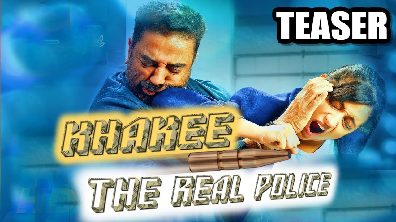Khakee : The Real Police (Thoongavanam) 2018 Hindi Dubbed Official Teaser | Kamal Haasan, Trisha