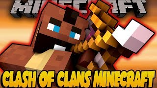 Clash of Clans Movie Animated! - Minecraft Animation [#3]