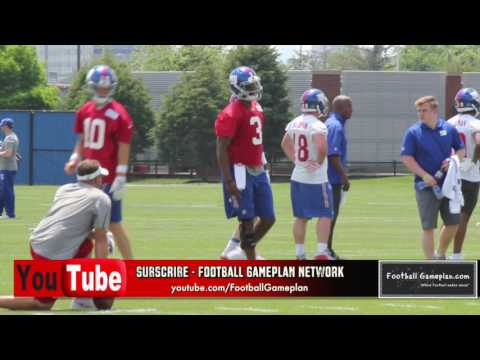 Football Gameplan's 2017 New York Giants Mini Camp Interview: Geno Smith
