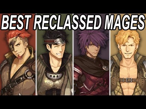 BEST Reclassed Mages in Fire Emblem Echoes: Shadows of Valentia (Contains Character Spoilers)