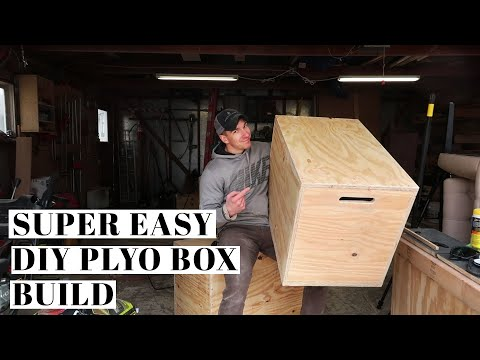EASY PLYO BOX BUILD | DIY Home Workout Equipment + Plywood Plans