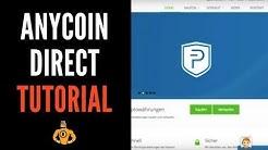 Bitcoin kaufen mit Anycoin Direct - Anycoin Direct Bitcoin Kaufen Anbieter Vergleich