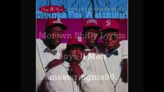 Boyz ll Men Motown Philly Lyrics