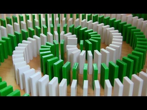 INSANE Domino Tricks! (Hevesh5 & MillionenDollarBoy) Travel Video
