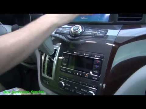 США | ПОДРОБНЫЙ обзор Nissan Quest 2013 (запрос)