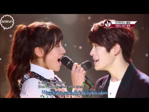 [VIETSUB] Jaehyun NCT & Herin SMRookies - A Whole New World