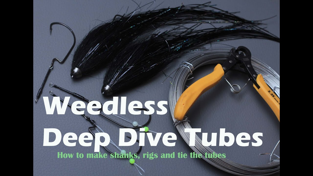 Weedless Deep Dive Tube Fly for pike