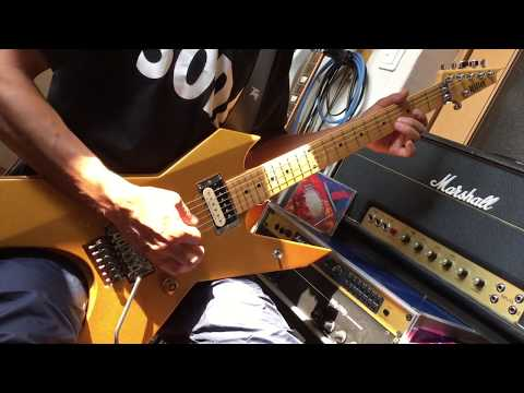 LOUDNESS Shadows Of War Ashes In The Sky AKIRA TAKASAKI COVER