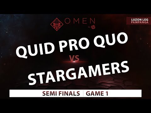 QPQ vs SGR | Game 1 | Omen by HP Esports Tour Luzon