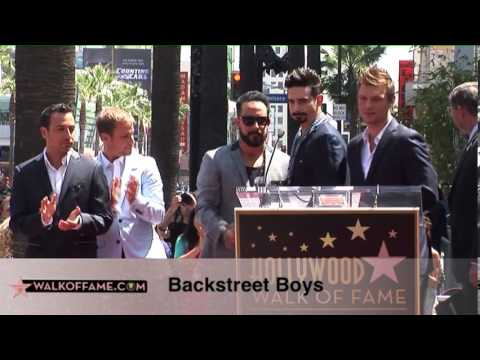 FULL - Backstreet Boys Hollywood Walk of Fame - 4/22/2013