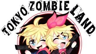 【Speedpaint】Tokyo Zombie Land | Kagamine Rin & Len | Chibi【MediBang Paint Pro】( Yitsune Melody #31 )
