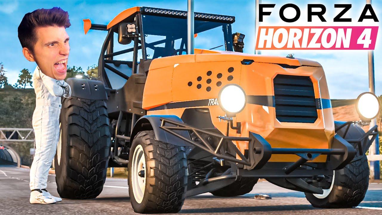 Ich fahre den SCHNELLSTEN Trecker der Welt | Forza Horizon 4