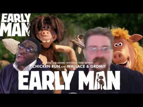 We are so late on this/ early man movie review