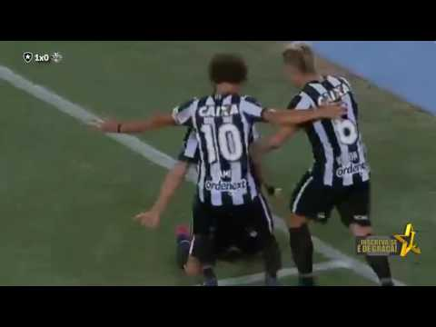 Botafogo 1 x 0 Olimpia  HD Melhores Momentos Taça Libertadores 2017
