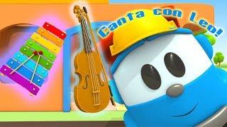 La canzone di Leo il camion curioso! Canta con Leo! Canzoni per bambini