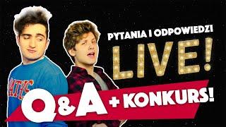 Q&A + KONKURS! | Między Nami Live