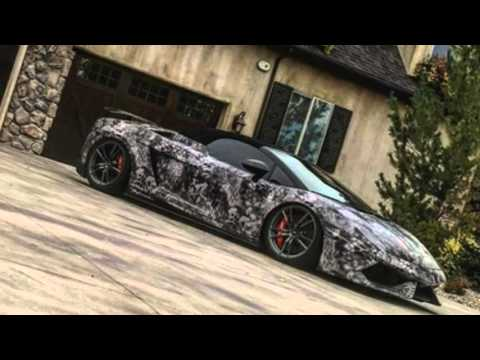 Kryptek Camo Lamborghini From Envision Wraps Youtube