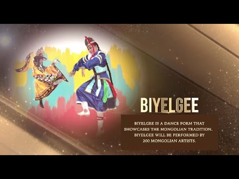 Biyelgee, Mongolia | World Culture Festival 2016