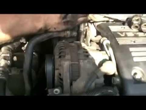 Replacing Honda Accord Belts V6 Power Steering Alternator ...