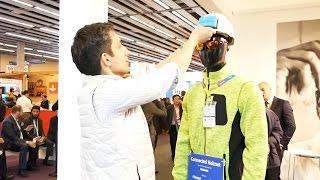 Обзор умного строительного шлема на выставке MWC 2017