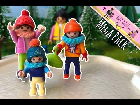 Sport im Winter mit Familie Mathes - MEGA PACK - Playmobil Filme auf deutsch