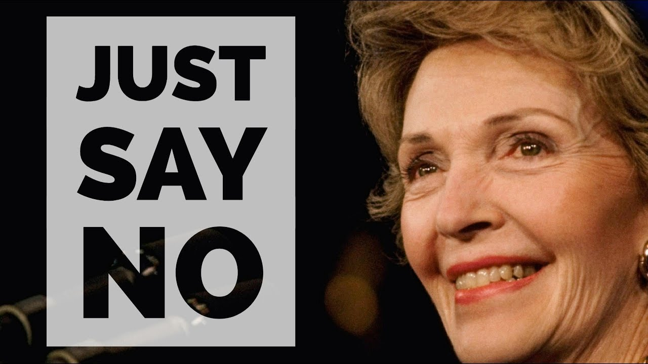 Image result for nancy reagan say no to drugs