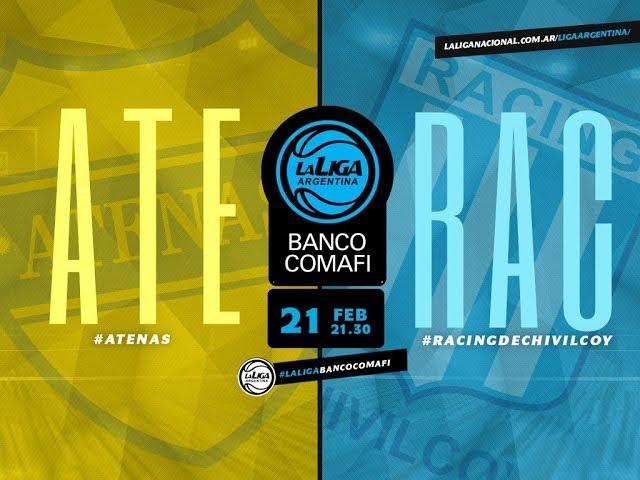 #LaLigaArgentinaBancoComafi   21.02.2019 Atenas de Carmen de Patagones vs. Racing de Chivilcoy