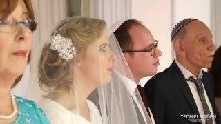 בנימין ואביטל לבן בהר קליפ פתיח וחופה   Avital & Benjamin     Behar Wedding Chuppa Highlights