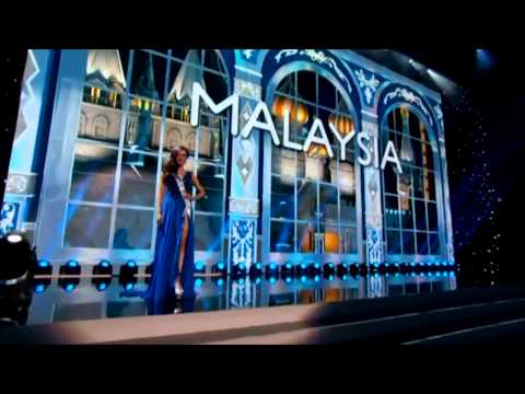 MALAYSIA (Carey Ng) - MISS UNIVERSE 2013 PRELIMINARY COMPETITION HD