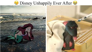 Artist Imagined What Would Happen If Disney Movies Had Unhappy Endings