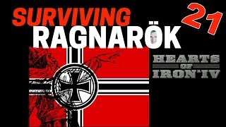 Hearts of Iron 4 - Challenge Survive Ragnarok! - Germany VS World  - Part 21