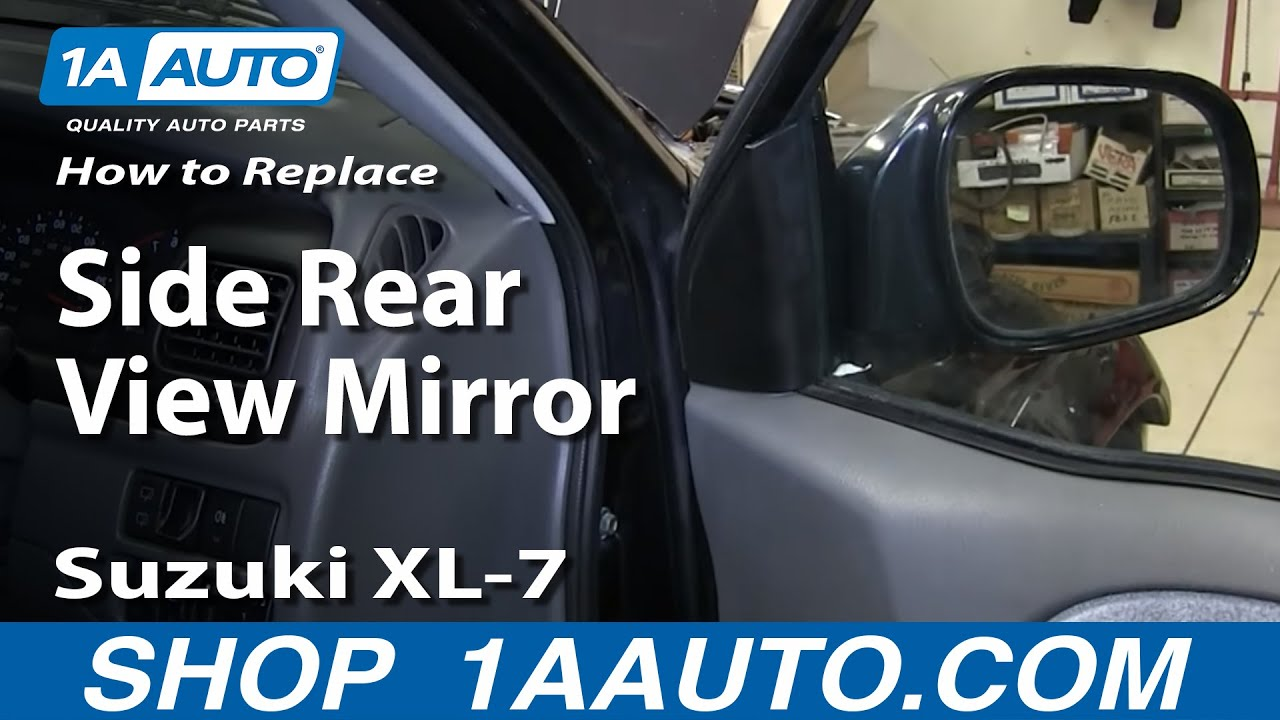 Suzuki Khyber Wiring And Old Parts How To Install Replace Side Rear View Mirror 2001 06 Xl 7